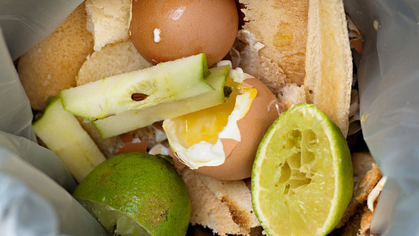 Vyhozené potraviny, ilustrační foto