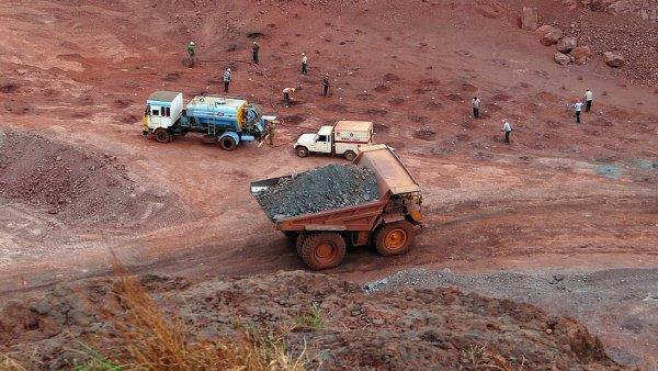 Vzestup i pokles cen �elezn� rudy ovliv�uje ��na - Ilustra�n� foto.