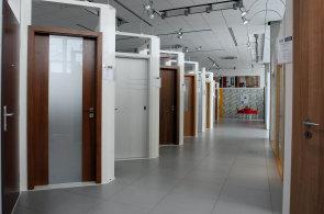 Showroom výrobce dveří Sapeli v domovské Jihlavě