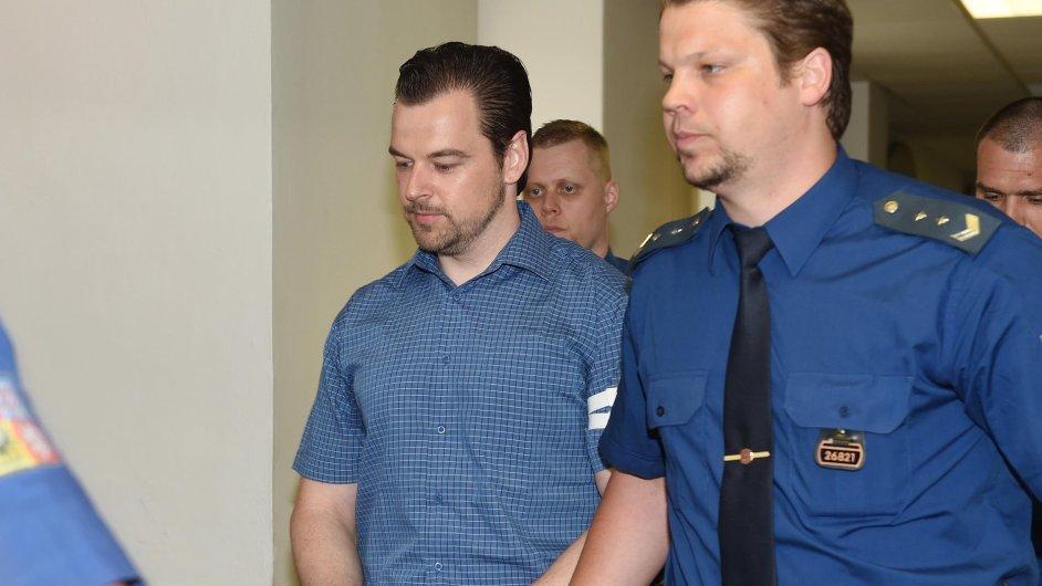 Petr Kramný, jehož v lednu ostravský krajský soud nepravomocně odsoudil za vraždu manželky a dcery v Egyptě k 28 letům vězení.