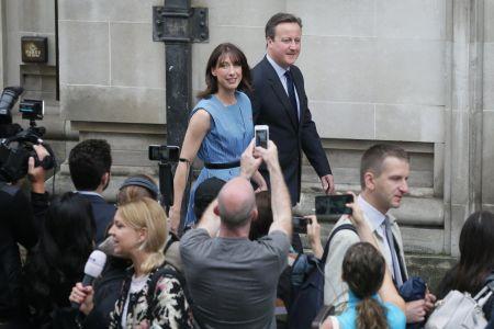 David Cameron volil v referendu.