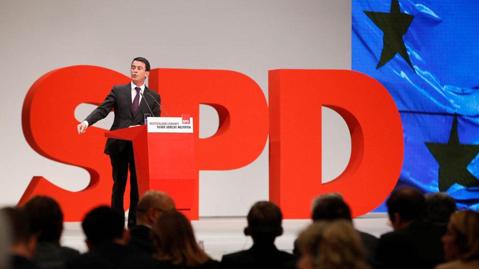 SPD se chystá na nadcházející volby - Ilustrační foto.