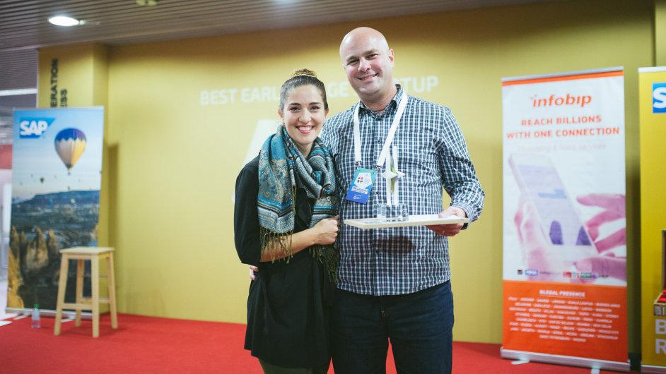 GreyCortex získal Středoevropskou cenu start-upů v kategorii firem v rané fázi vývoje.