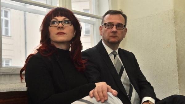 Jana Nečasová s bývalým premiérem Petrem Nečasem.