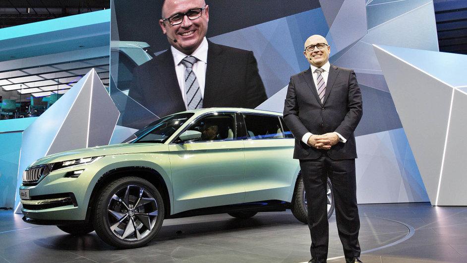 Bernhard Maier v Ženevě představil Vision S, předobraz nového SUV.