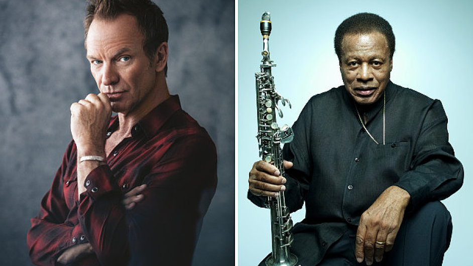 Hudební ocenění Polar Music Prize se udílí vždy dvěma osobnostem naráz. Letos to je za populární hudbu Sting (vlevo), za jazzovou Wayne Shorter.