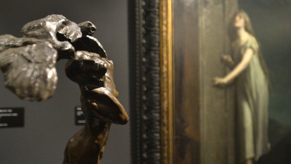 Snímek z výstavy Světla, šero a temnoty.