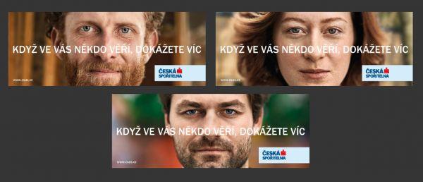 OOH kampaň České spořitelny