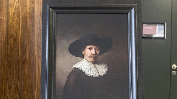Nový Rembrandt, jak by ho slavný malíř namaloval, kdyby ještě žil, alespoň podle datové analýzy.