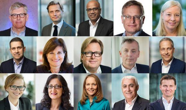 Executive team společnosti Ericsson