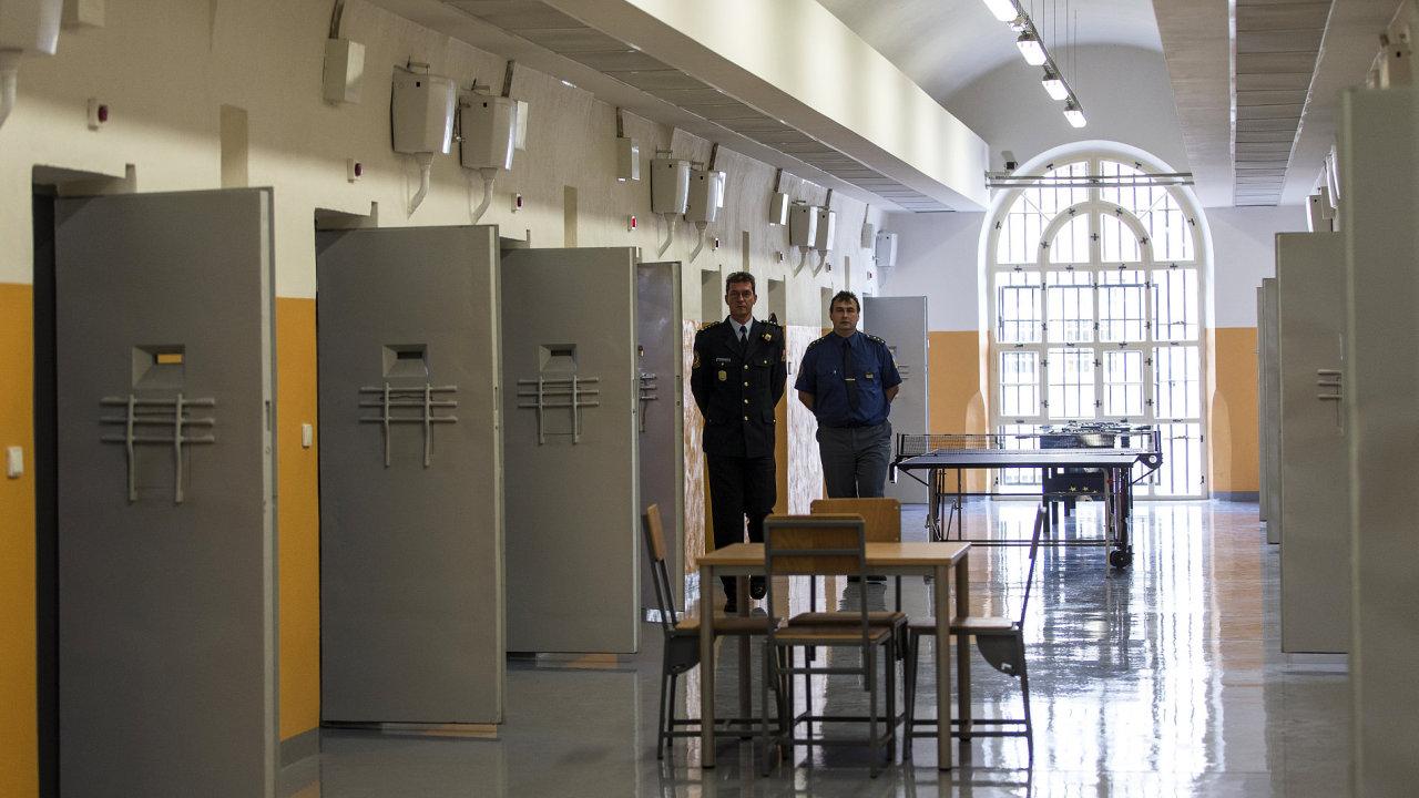 Pankrác, Vazební věznice, věznice, vězení, vazba, policie, kriminalita