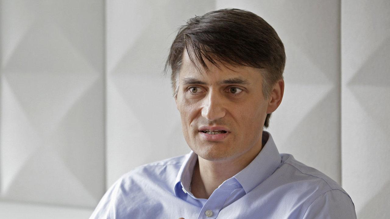 Jan Vraný, ředitel reklamy a propagace společnosti Notino.cz
