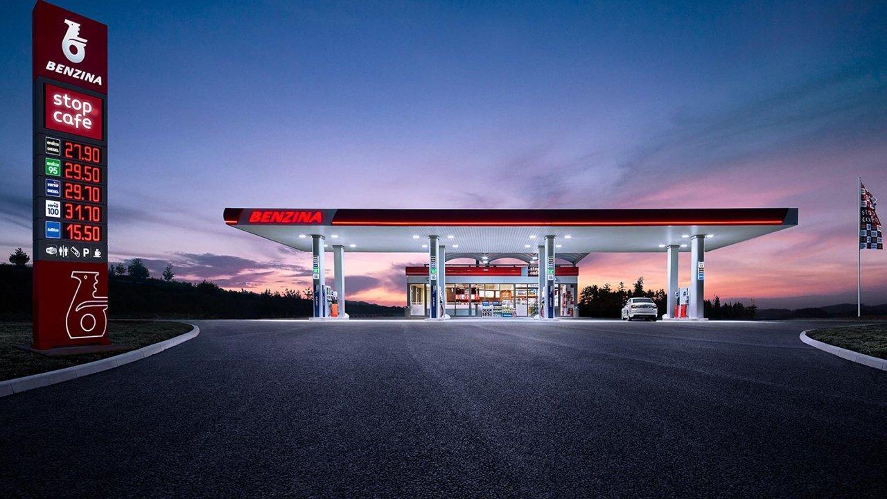 Společnost Benzina má ambici do budoucna ovládnout 30 procent českého maloobchodního trhu s pohonnými hmotami. Nyní má asi pětinu.