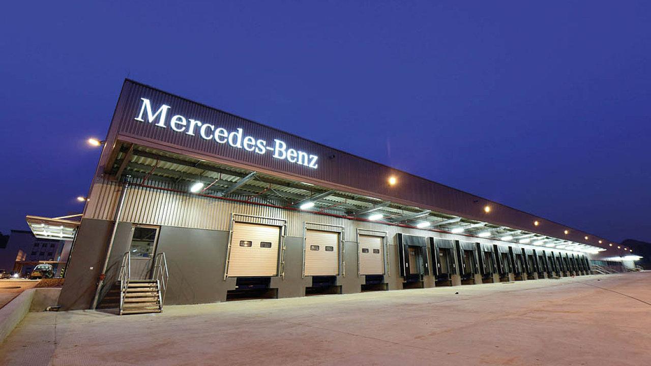 Daimler plánuje obří distribuční centrum ve střední Evropě