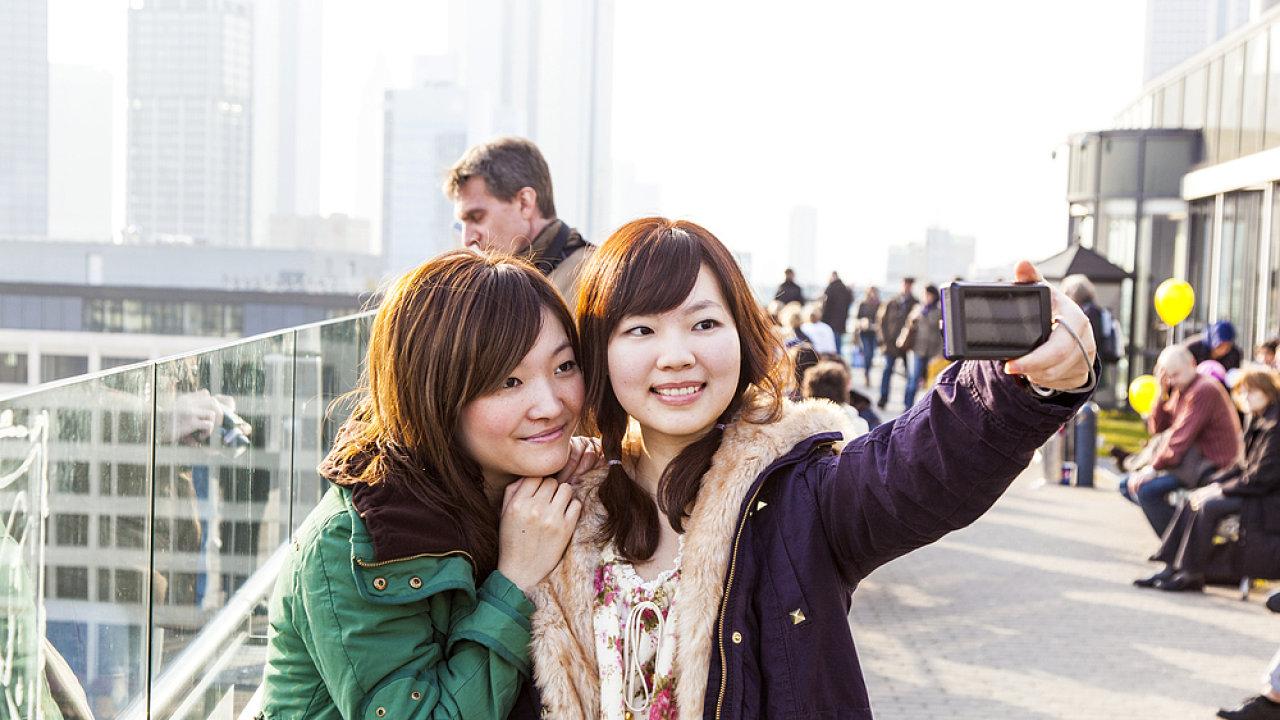 Japonské turistky