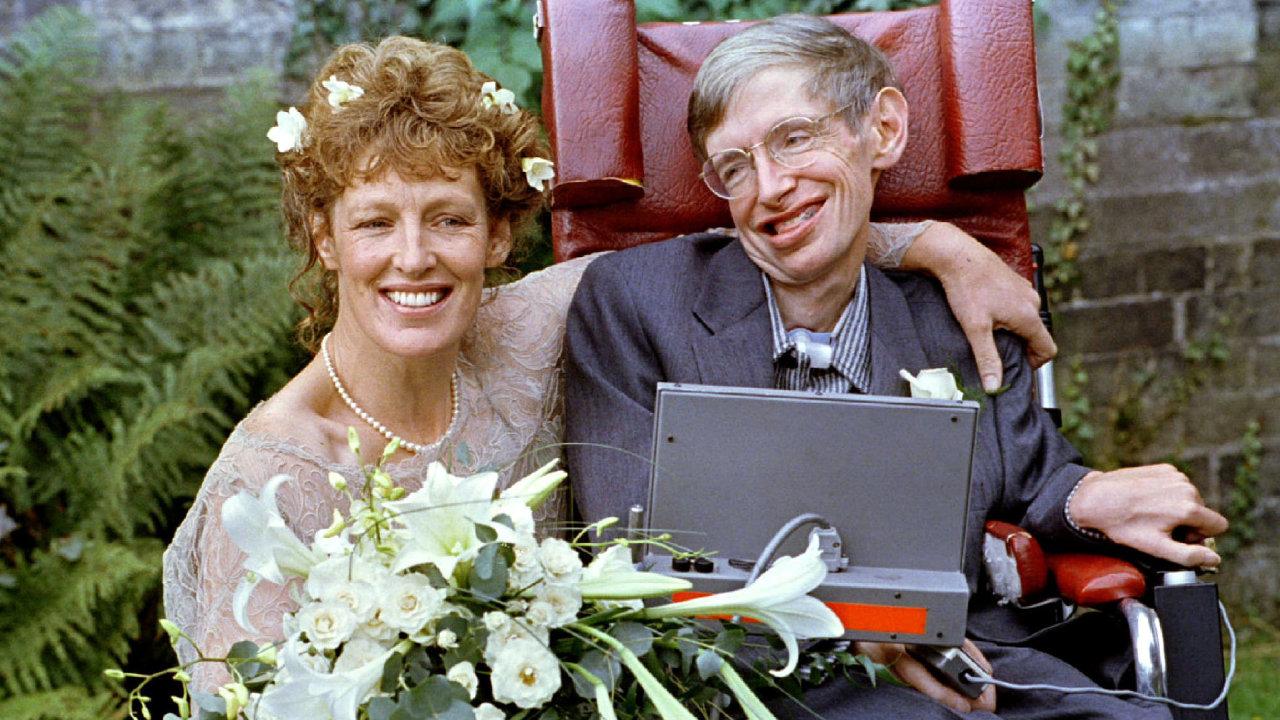 Stephen Hawking si svojí druhou ženu Elaine Masonovou vzal v září roku 1995 ve věku 53 let. Obřad se odehrál v oxfordském kostele Sv. Barnabáše.