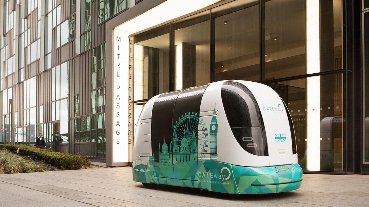 Autonomní vozítka projektu GATEway slibují Británii budoucnost přepravy.