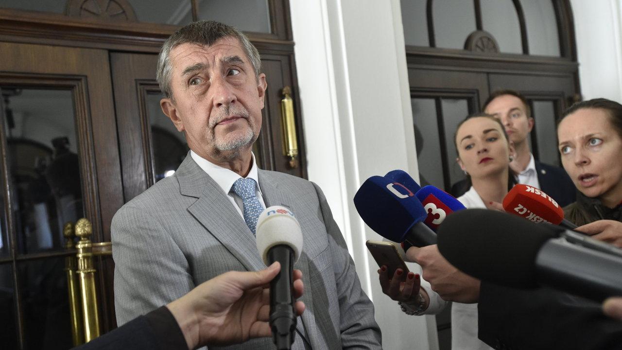 Andrej Babiš diskutoval s Janem Hamáčkem o koaliční smlouvě.