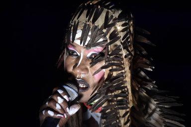 Vystoupení Grace Jonesové, kultovní zpěvačky aherečky jamajského původu, patřilo kvrcholům 17. ročníku mezinárodního hudebního festivalu Colours of Ostrava.