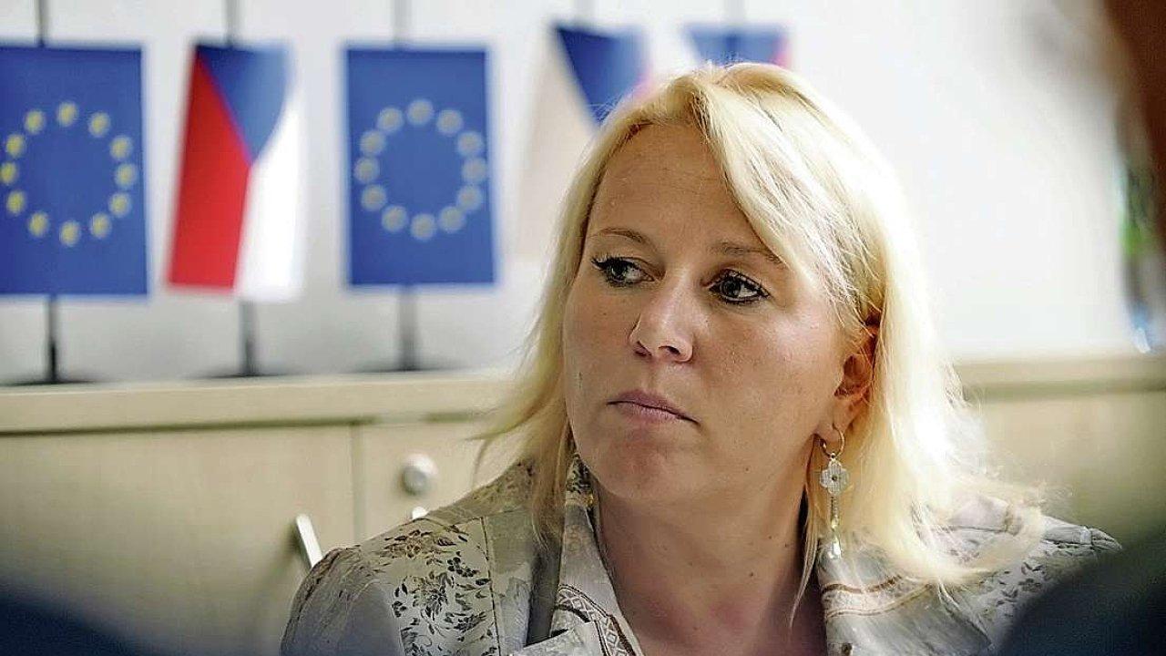 Klára Dostálová, náměstkyně ministryně pro místní rozvoj