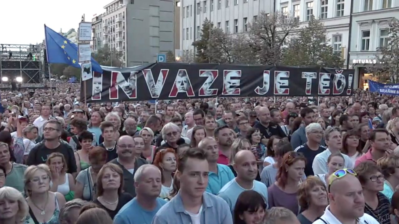 Kiska k výročí okupace: Je naší povinností chránit svobodu. Prezident Zeman projev nepronesl