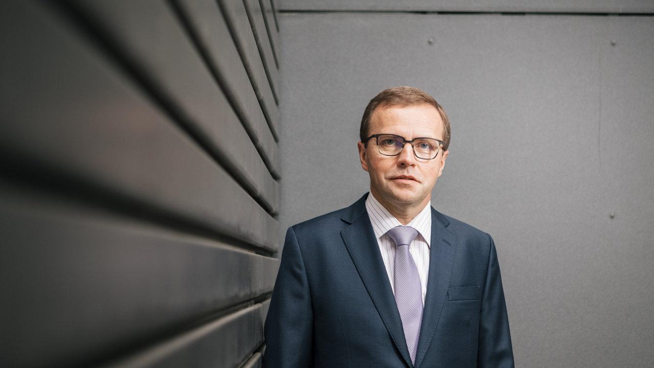Zdeněk Turek, ředitel Citibank Europe.