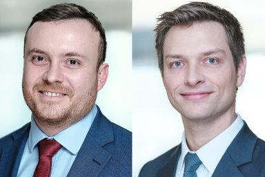 Lukáš Havel a Peter Maysenhölder, associated partneři advokátní kanceláře bnt