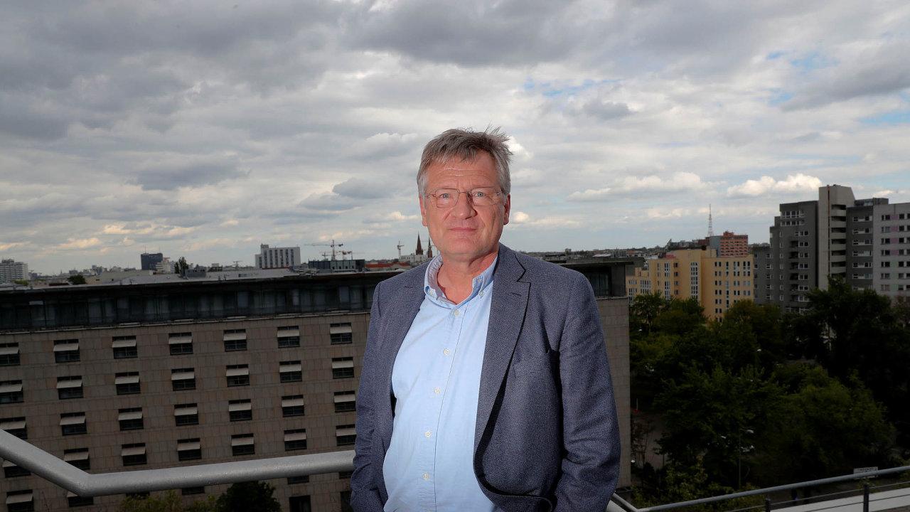 Předseda celoněmecké AfD Jörg Meuthen.