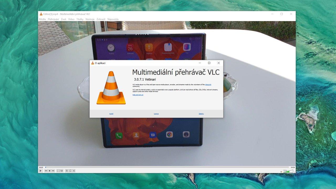 Přehrávač VLC ve Windows 10