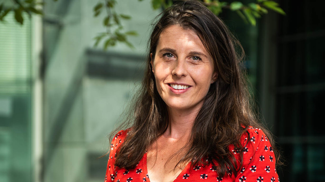 Silvia Čebeková pracuje včeské pobočce americké společnosti ExxonMobil napozici zvané family advisor.