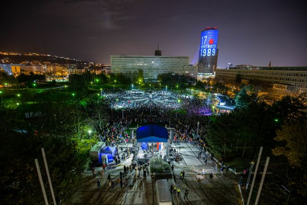 Náměstí svobody v Bratislavě