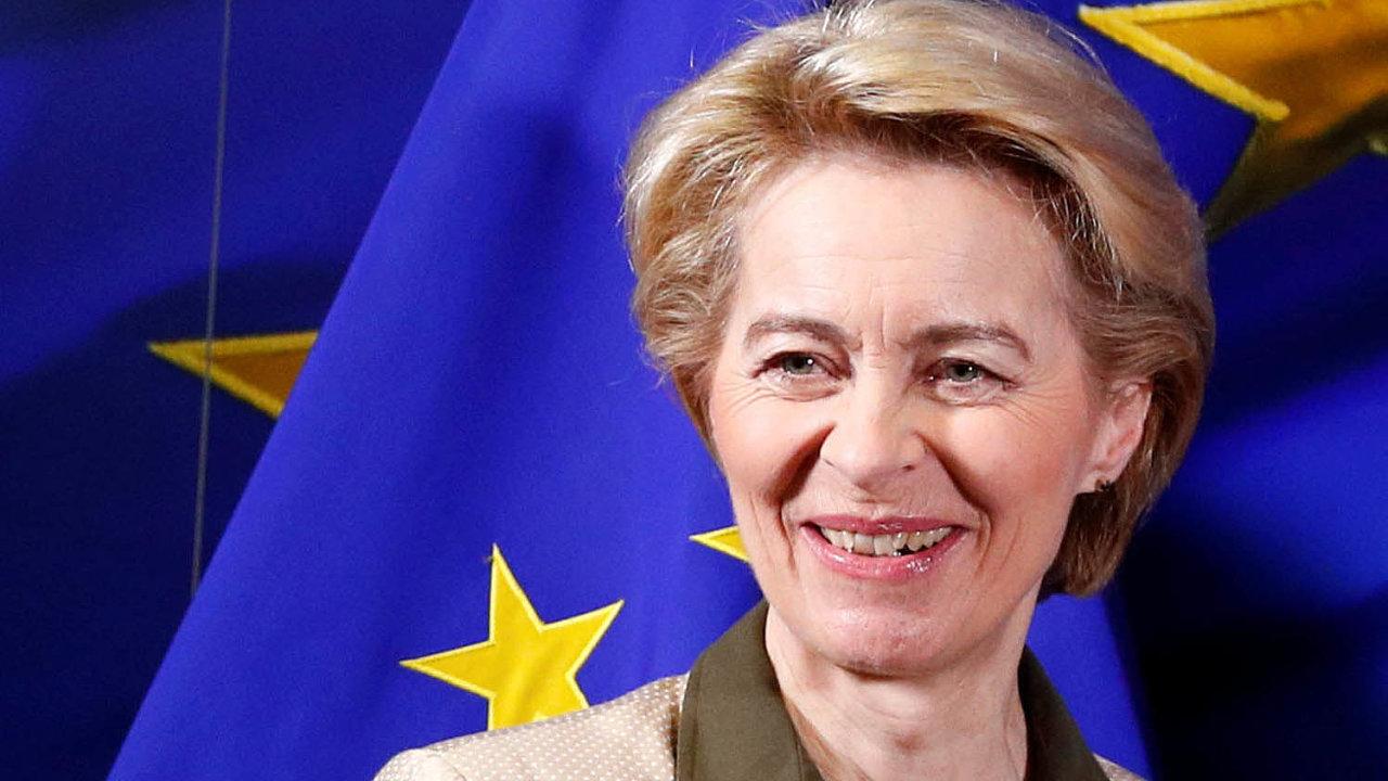 Novou Evropskou komisi povede Němka Ursula von der Leyenová.