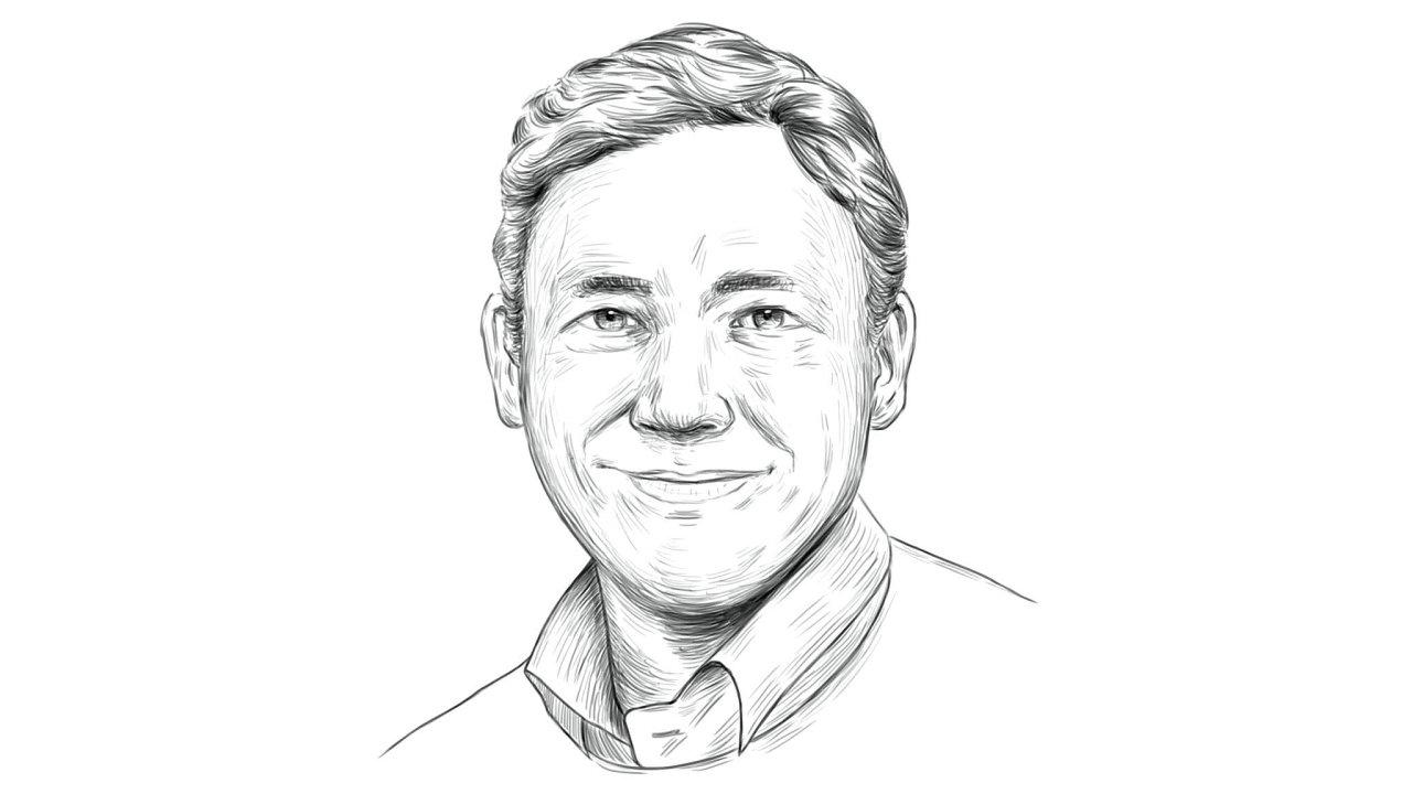 Petr Kain, šéfredaktor týdeníku Ekonom