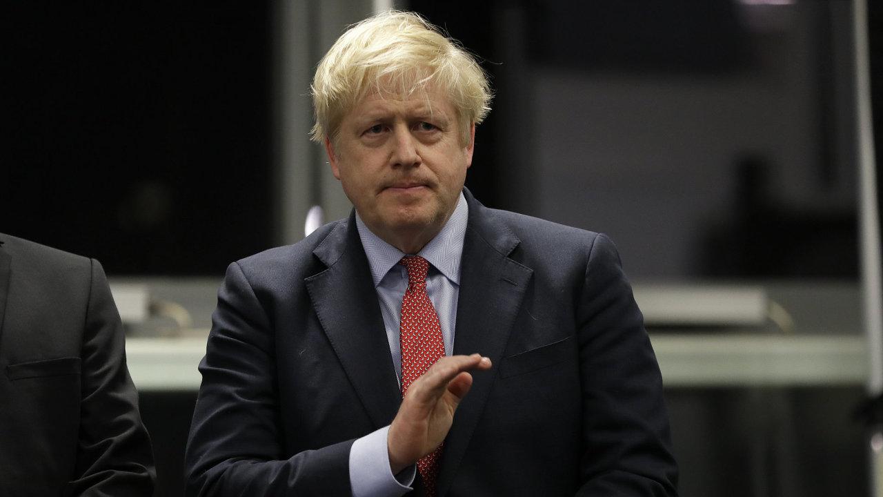 Boris Johnson vyhrál předčasné volby.