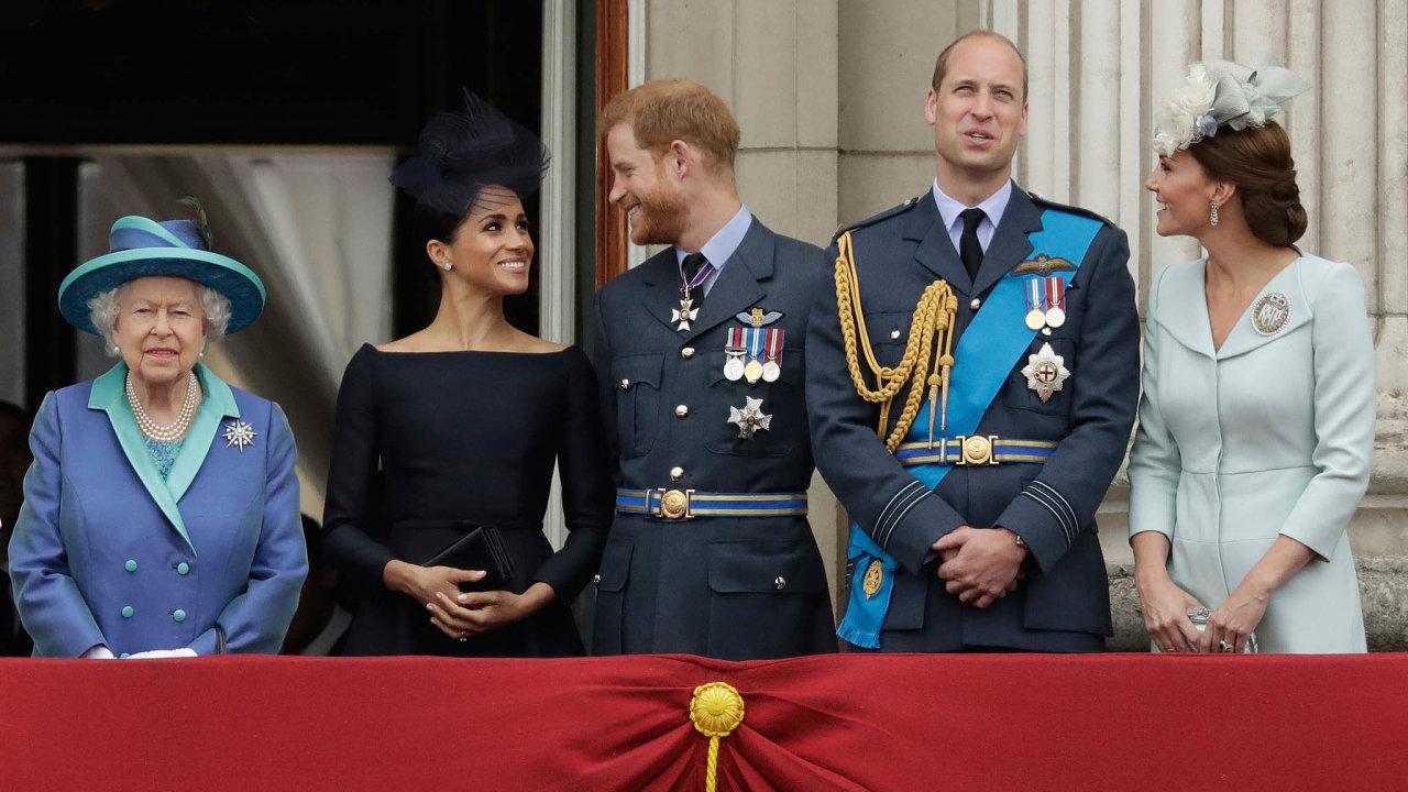 Královská rodina.