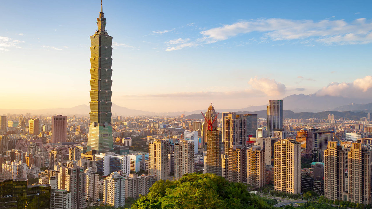 Symbolem tchajwanského ekonomického zázraku se stal mrakodrap Tchaj-pej 101, až doroku 2010 nejvyšší budova světa.