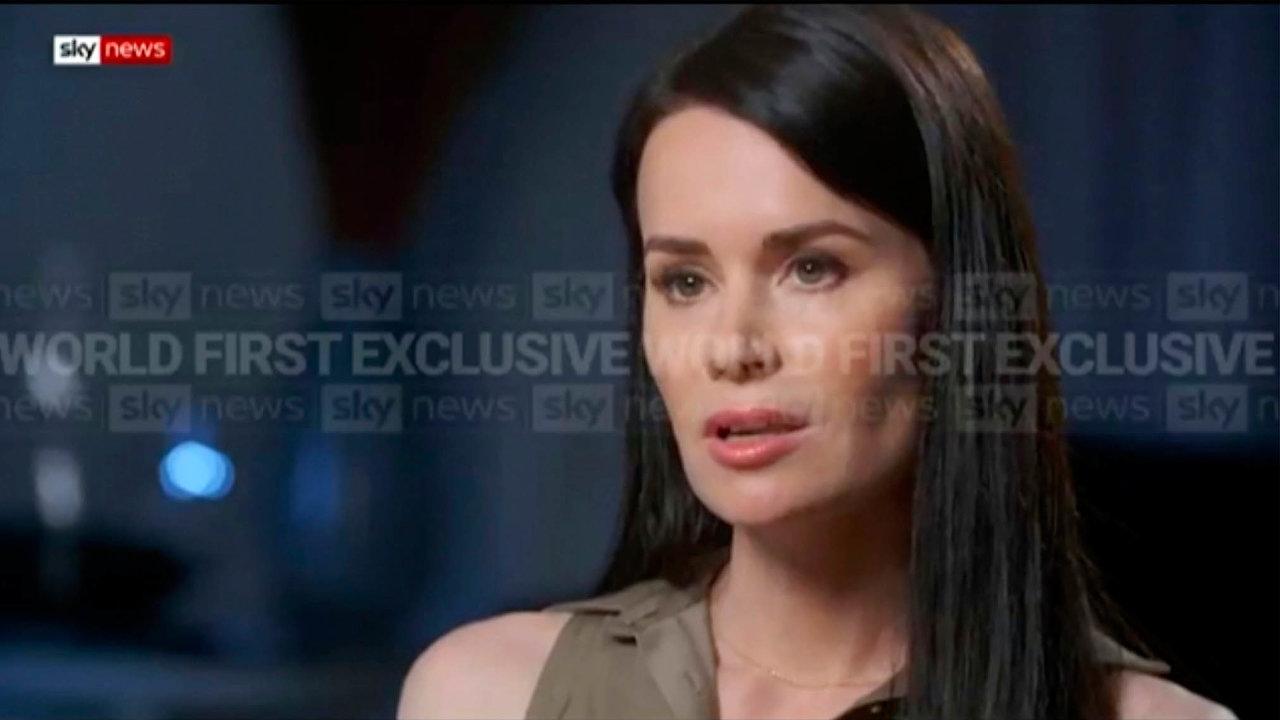 Kylie Mooreová-Gilbertová (na snímku z obrazovky televize Sky News) byla do loňského listopadu vězněna v Íránu.