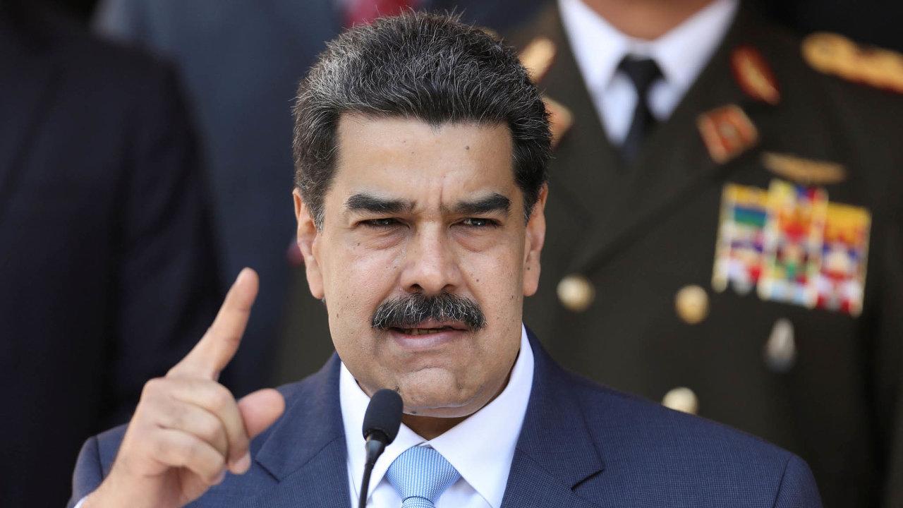Budu první. Neprověřenou ruskou vakcínu proti koronaviru si prý nechá venezuelský prezident Nicolás Maduro očkovat jako první.