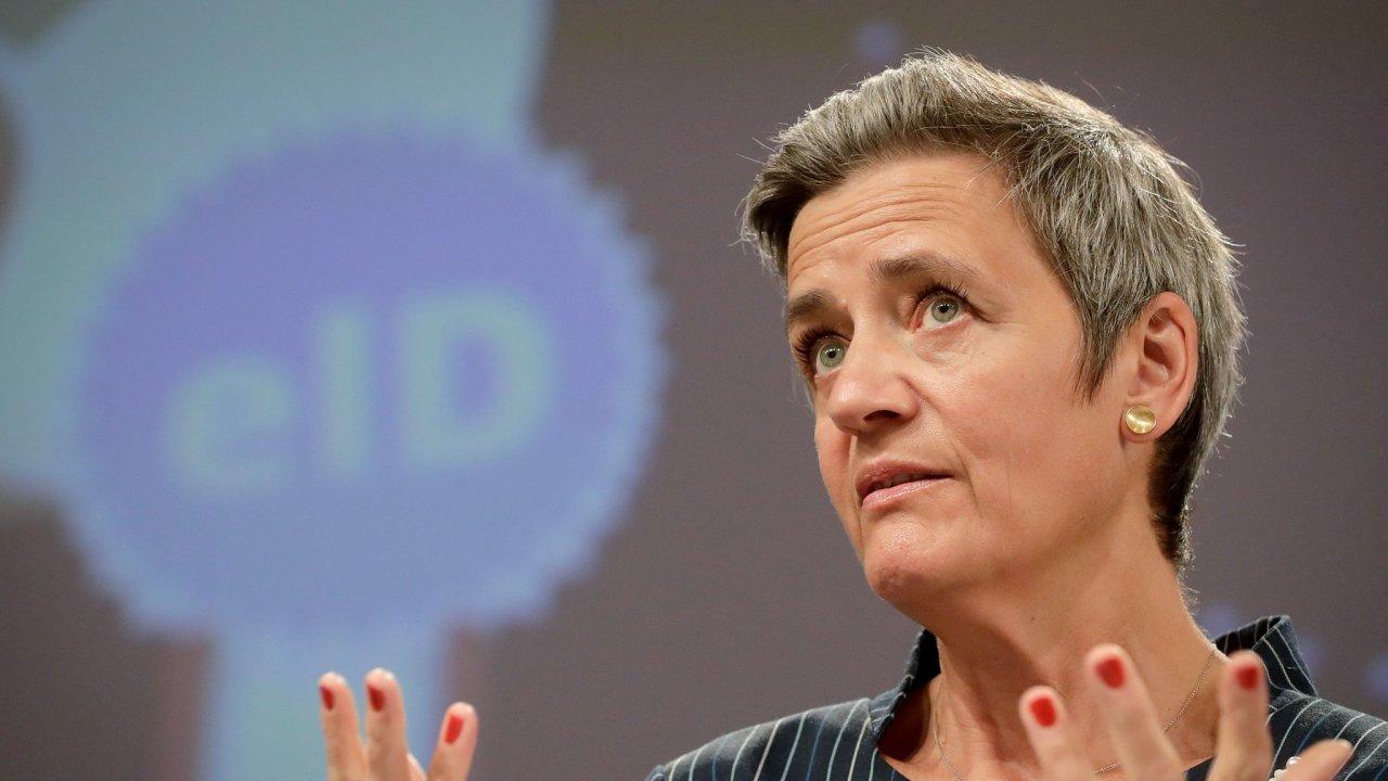 Místopředsedkyně EK a komisařka pro hospodářskou soutěž Margrethe Vestagerová