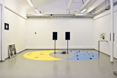 Z instalace Množiny od Pavla Sterce