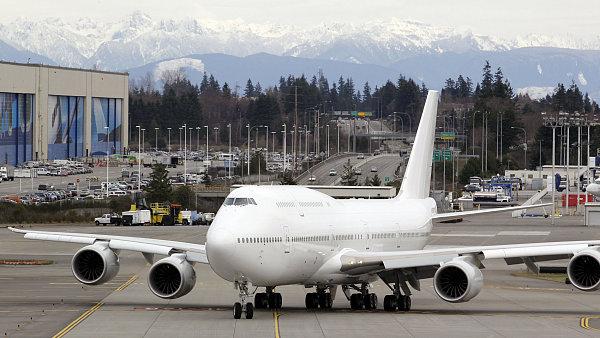 Boeing omezí výrobu modelu 747-8 na polovinu.