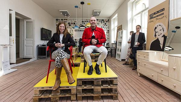 Mats Nilsson a Johanna Jelinek, designéři IKEA