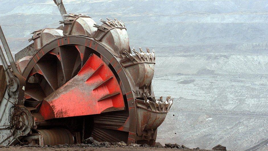 Mostecká uhelná společnost, ilustrační foto.