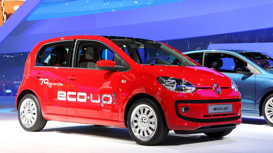 Pětidveřový Volkswagen eco Up!