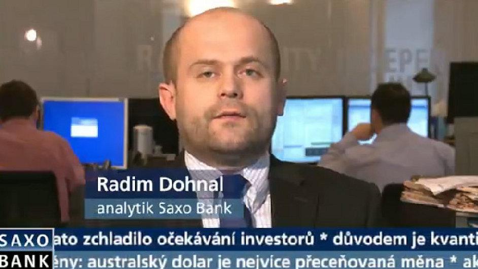 Radim Dohnal, Saxo Bank