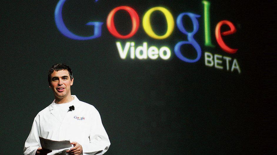 Šéf Googlu Larry Page.