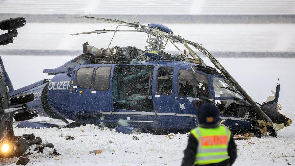 V Berlíně se srazily vrtulníky.