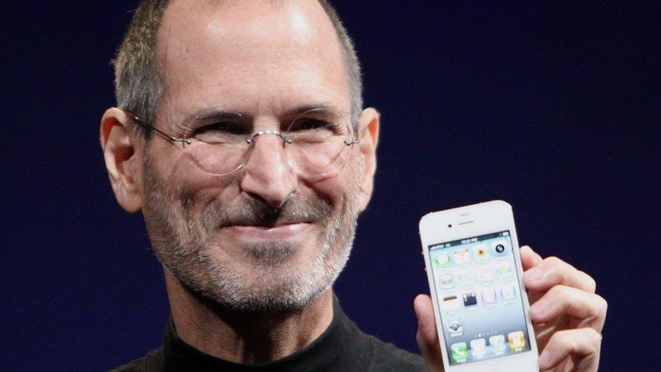 Steve Jobs v roce 2010