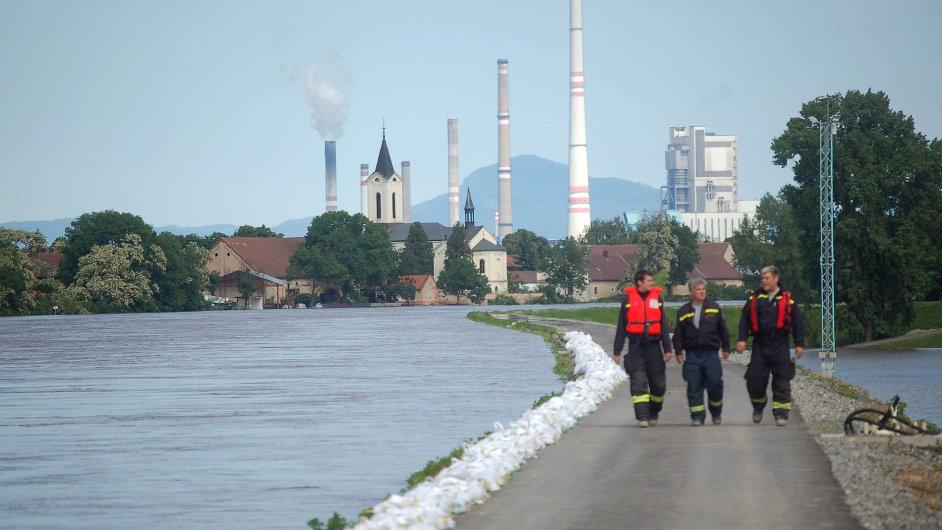 Záplavy 2013 v Mělníku