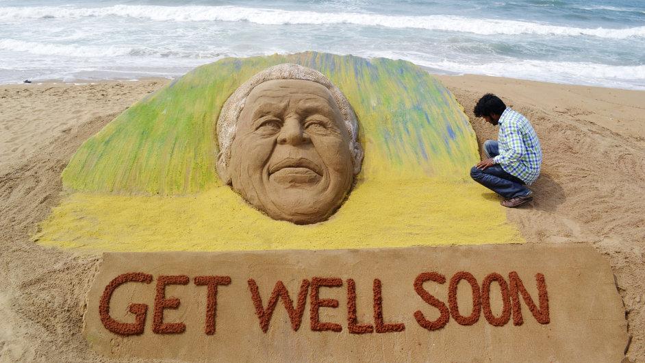 JAR se modlí za Nelsona Mandelu